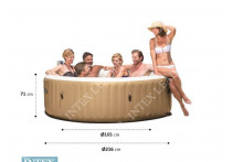 Джакузи Intex 28428 PureSpa Bubble Therapy